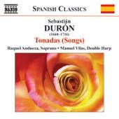 DURÓN: Songs by Raquel Andueza