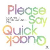 Please Say Quick Quack von Kaskade