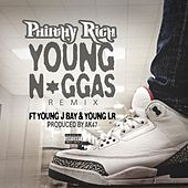 Young N*ggas (feat. J Bay & Young LR) (Remix) - Single von Philthy Rich