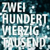 Zweihundertvierzigtausend von Tiemo Hauer