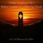 Mahler: Symphony No. 1 - Brahms: Variations on a Theme by Haydn von New York Philharmonic