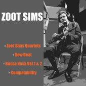 Zoot Sims Quartets / New Beat / Bossa Nova Vol. 1 & 2 / Compatability by Zoot Sims