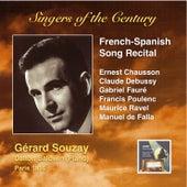 Singers of the Century: Gérard Souzay (French-Spanish Song Recital) by Gérard Souzay
