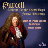 Purcell: Anthems for the Chapel Royal von The Choir Of Trinity College, Cambridge