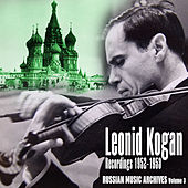 Russian Music Archives, Volume 3 (Recordings 1952 - 1953) by Various Artists