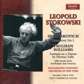 Leopold Stokowski - Amirov, Shostakovich, Vaughan Williams, Kurka 1960 & 1962 de Leopold Stokowski