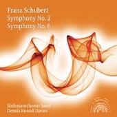 Schubert: Symphonies Nos. 2 & 6 di Sinfonieorchester Basel
