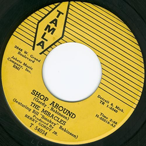 Shop Around - MotownSelect.com by The Miracles