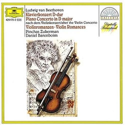 Beethoven: Piano Concerto after the Violin Concerto; Violin Romances by Various Artists