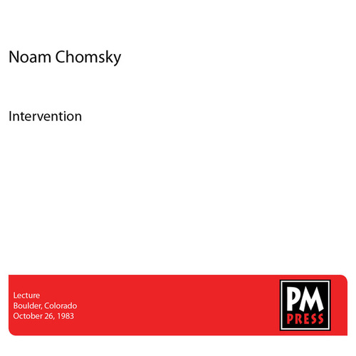 Intervention by Noam Chomsky