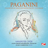 Paganini: Concerto for Violin and Orchestra No. 1 in D Major, Op. 6 (Digitally Remastered) de Hanspeter Gmür
