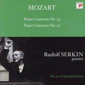 Mozart: Piano Concertos Nos. 23 & 27 [Rudolf Serkin - The Art of Interpretation] von Alexander Schneider; Columbia Symphony Orchestra; Rudolf Serkin