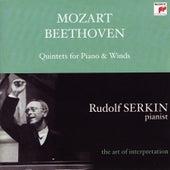 Mozart: Quintet in E-flat Major for Piano & Winds, K. 452; Beethoven: Quintet in E-flat Major for Piano & Winds, Op. 16 [Rudolf Serkin - The Art of Interpretrat by Rudolf Serkin