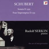 Schubert: Piano Sonata, D. 959; Four Impromptus, D. 935 [Rudolf Serkin - The Art of Interpretation] von Rudolf Serkin