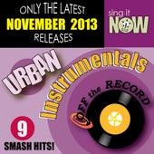 Nov 2013 Urban Hits Instrumentals by Off The Record Instrumentals BLOCKED