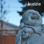 Shooting Beer Cans Off the Buddha by Buzzie