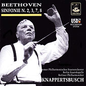 Beethoven: Symphonies Nos. 2, 3, 7, 8 by Hans Knapperstbusch