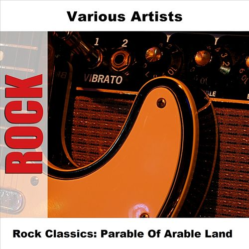 Rock Classics: Parable Of Arable Land by Various Artists