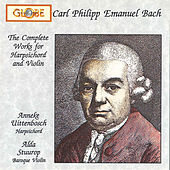 C.P.E. Bach: Complete Works for Harpsichord and Violin by Various Artists