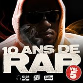 10 Ans De Rap, Vol. 5 de Various Artists