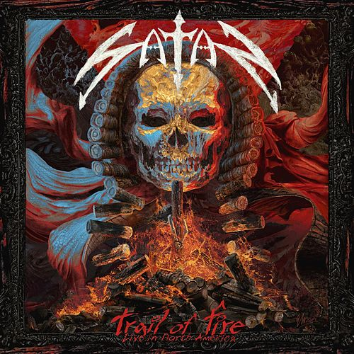 Trail of fire – Live in North America by Satan