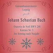 Gewandhausorchester Leipzig spielt: Johann Sebastian Bach: Oratorio de Noël BWV 248, Kantate Nr. 5, Am Sonntag nach Neujahr von Gewandhausorchester Leipzig