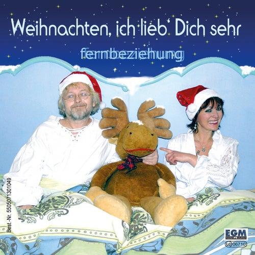 Weihnachten ich lieb dich sehr de Fernbeziehung