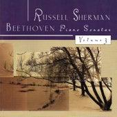 Beethoven Piano Sonatas, Vol. 3 by Russell Sherman