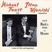 Bach & Mozart: Sonatas for Flute and Harpsichord, Vol. 2 by Ilton Wjuniski