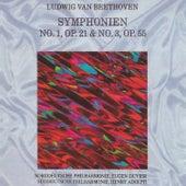 Ludwig Van Beethoven - Symphonien No. 1, No. 3 by Various Artists