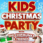 Kids Christmas Party with The Chipmunks & Friends - Childrens Favourite Xmas Hits & Songs (Deluxe Party Version) de Various Artists