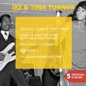 Five Original Albums von Ike and Tina Turner