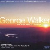 Walker: Mass - Brahms: Concerto for Piano, No. 2 de Various Artists