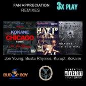 Fan Appreciation Remixes 3x Play by Kokane