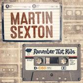 Remember That Ride - Single de Martin Sexton