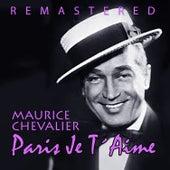 Paris je t´aime de Maurice Chevalier