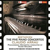 Beethoven: The 5 Piano Concertos von Claudio Arrau