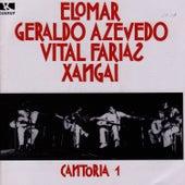 Cantoria 1 de Elomar, Geraldo Azevedo, Vital Farias, Xangai