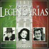 Voces legendarias, Vol. 4 (Italia) von Various Artists