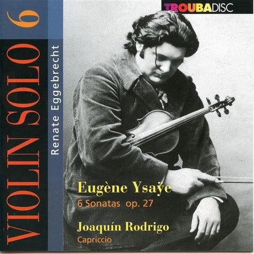 Violin Solo, Vol. 6 by Renate Eggebrecht