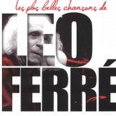 Léo Ferré: les plus belles chansons de Leo Ferre