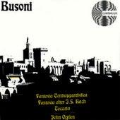 Ferruccio Busoni: Fantasia Contrappuntistica, Fantasia after J.S. Bach and Toccata by John Ogdon