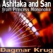 Ashitaka and San - from Princess Mononoke by Dagmar Krug