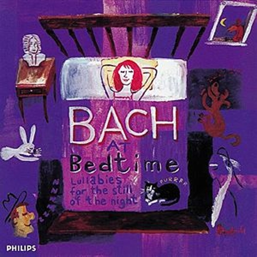 Bach at Bedtime by Various Artists