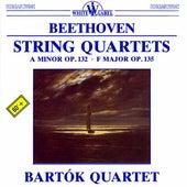 Beethoven: String Quartets Nos. 15 & 16 by Bartok Quartet