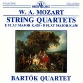Mozart: String Quartets E Flat Major K.428 - B Flat Major K.458 by Bartok Quartet