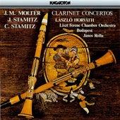 Molter, J. Stamitz & C. Stamitz: Clarinet Concertos von Laszlo Horvath