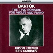 Bartók: The Two Sonatas for Violin and Piano de Gidon Kremer