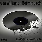 Detroit Back - Single by Ben Williams