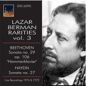 Lazar Berman Rarities, Vol. 3 (Live) by Lazar Berman